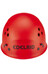 Edelrid Ultralight Helmet red